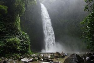 Nungnung Waterfall, The Beautiful Green Scenery