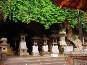 The Bat Cave Temple and Kusamba Beach