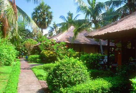 Bali beach bungalow