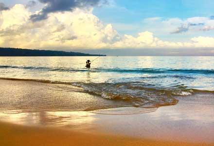 Bali beach vacation