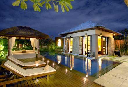 Bali villas beach