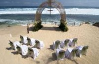 Bali beach weddings