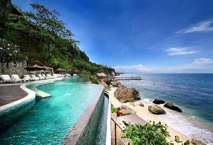 Beach resort in Bali