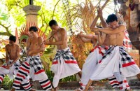 Kris Dance, a part of Barong Dance